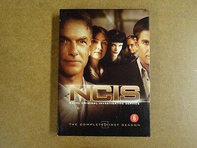 6-DISC DVD BOX / NCIS - NAVAL CRIMINAL INVESTIGATIVE SERVICE - SEASON 1