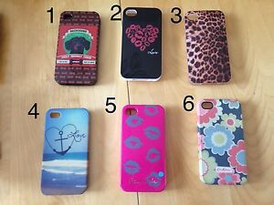 iPhone's 4s cases -- 2$ each
