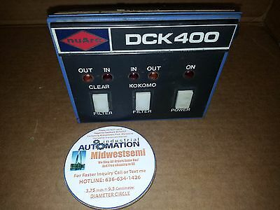 Freeshipsameday Nuarc Dck400 Kokomo Controller Filter Power Operator Dck 400