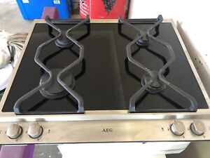 Gas Cook top- German made AEG as new condition.