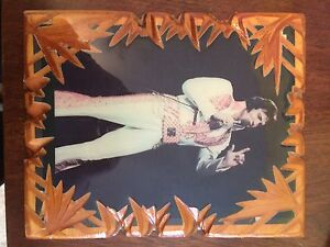 Elvis Presley Wooden picture