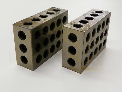 2 Piece Set 1-2-3 Precision Blocks  A101