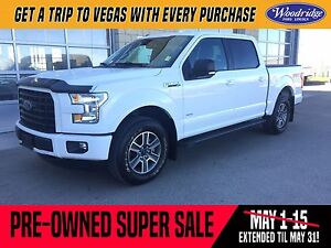 2016 Ford F-150 XLT PRE-OWNED SUPER SALE ON NOW!