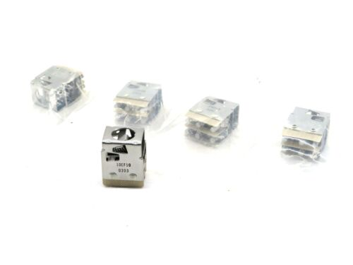 5 NEW EATON CORPORATION 10EF10 CONTACT BLOCK 0303