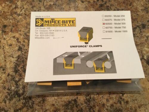 Mitee Bite 60500 #8-32 Thread Uniforce Clamp 8/Pack