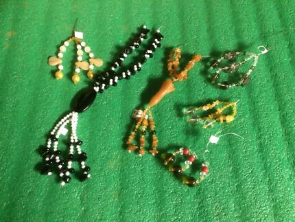 glass and gemstone beads for jewellery