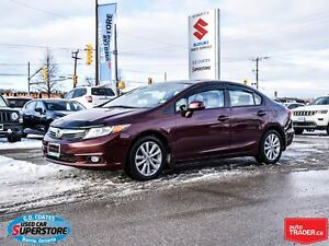 2012 Honda Civic EX-L ~Heated Leather ~Power Moonroof