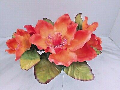 Silk Flower Accents - Cute magnolia accent piece. silk flower floral arrangements
