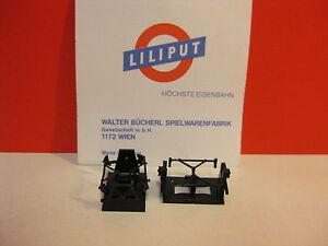 LILIPUT-21600-2-H0-Cuscinetto-asse-Asse-del-ponte-DRG-DB-DR-2-Pezzi-con-Freni