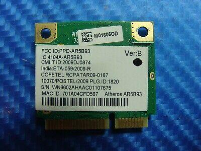 """Acer Aspire 5532-5535 15.6"""" Genuine Wireless WiFi Card AR5B93 ER*"""
