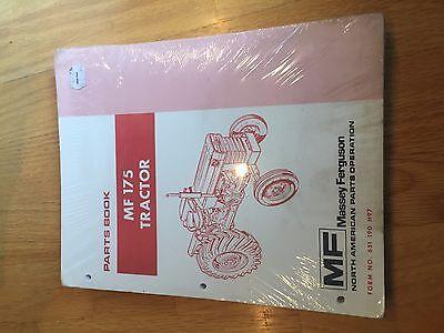 Massey Ferguson Tractor Parts Book Catalog Manual Mf 175