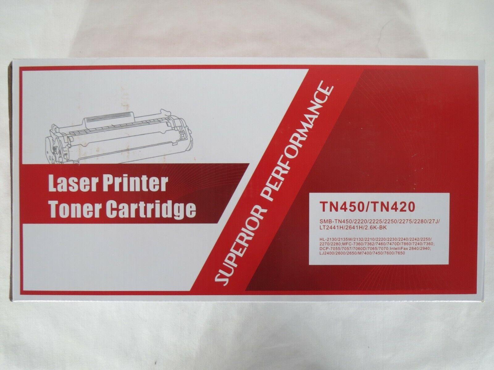 laser printer premium toner cartridge smb tn450