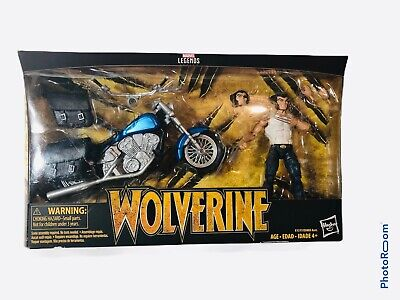 "Marvel Legends Series 6"" Ultimate Wolverine W/Motorcycle Set NEW!!"