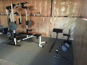 Home gym and accessories
