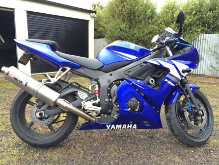 2003 YAMAHA YZF-R6 Carlton North Melbourne City Preview