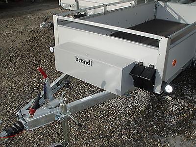 Deichselbox Staubox für Pkw Anhänger Metall Werkzeugkiste inkl. Montagesatz NEU