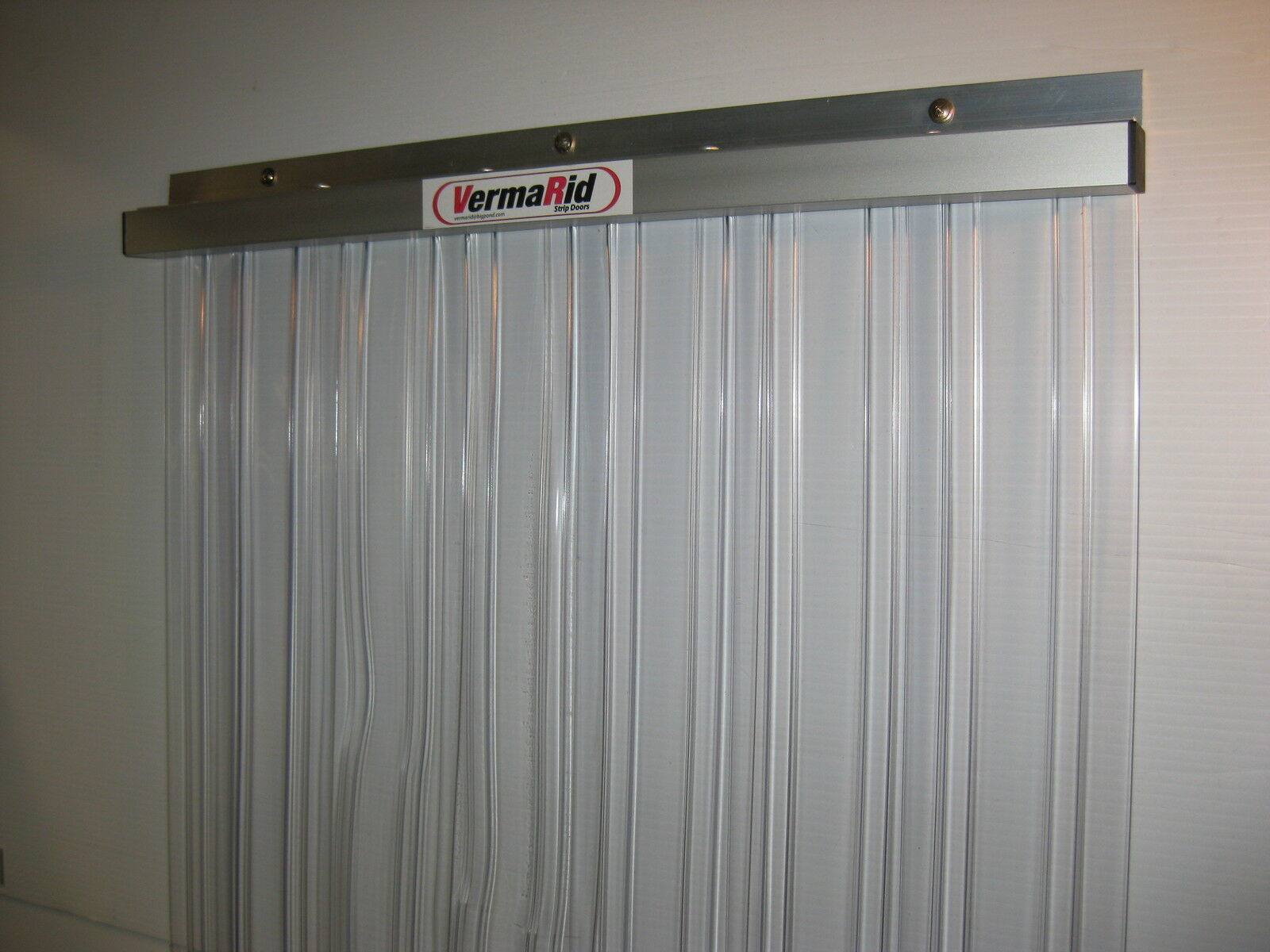 pvc coolroom general entry strip curtain door 2100x900