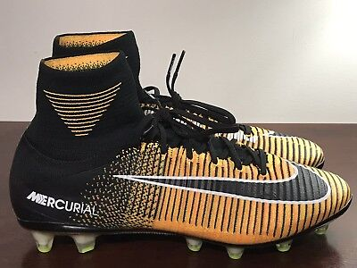 37fb177dc417 Men's Nike Mercurial Superfly V AG-PRO ACC Soccer Cleats 831955-802 Size 9.5