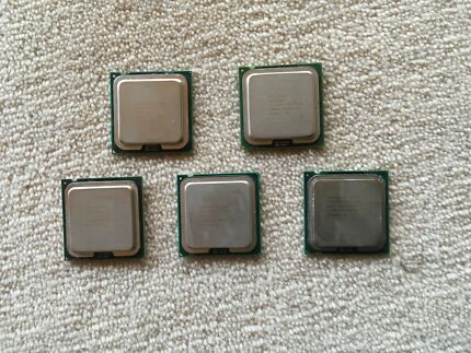 5 Intel CPU - $5 Each