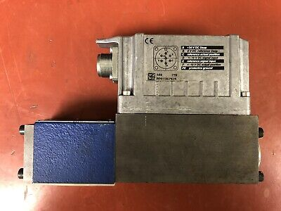 Bosch Rexroth Proportional Hydraulic Valve Mnr R901382346 4wrpeh