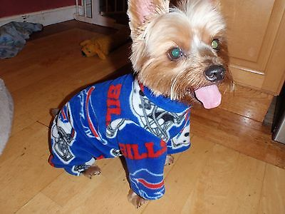 Buffalo Bills Fleece Dog Coat