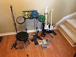 Rock Band Package for Play Station 3