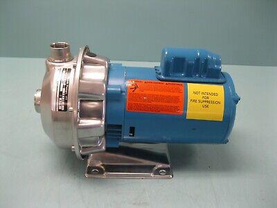 1-14 X 1 Npt Goulds Npe 1st1c1e4 Centrifugal Pump 12 Hp New H20 2672