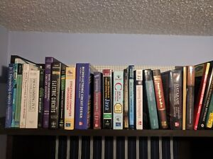 Assortment of 65+ textbooks (Accounting, Sci, Eng, ..)