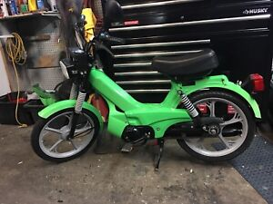 2002 tomos moped 2speed automatic pedal assist bike