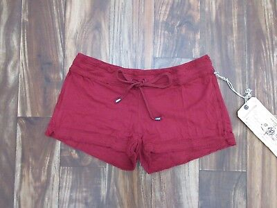 NEW Da Nang Frayed Knit Shorts in Gypsy Red Size MEDIUM PDC5171 for sale  Los Angeles