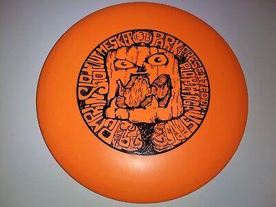 Halloween-disc-golf (New 2013 Innova DX Flat Top Roc Pumpkin Halloween Disc Golf 179g)