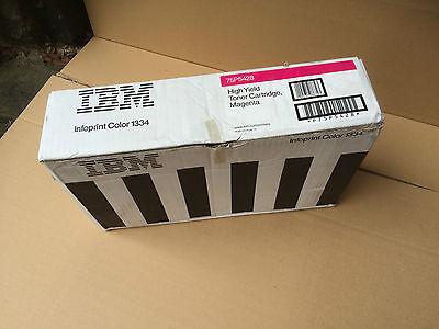 IBM 75P5428 Genuine High Yield Magenta Toner for Infoprint Color 1334 Printer
