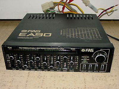 Vintage Old School FAS EA90 Programmable High Power Amplifier EQ Equalizer