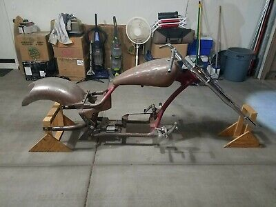 2008 Pro-Street Frameworks 300 Drop-seat Soft-Tail Custom Frame and Accessories