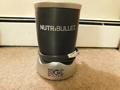 NutriBullet NB-101S Magic Bullet High Speed Blender Mixer Base Only Gray