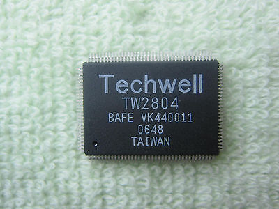 1 Piece New Techwell Tw2804 Qfp 128 Ic Chip