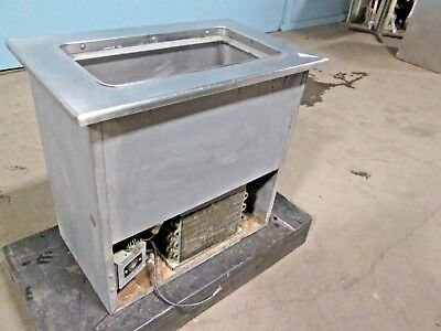 Randell H.d. Commercial Ss Refrigerated Drop-in Single Well Cold Pan Insert