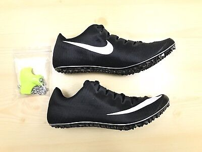 new product b1716 eb838 Nike Zoom Superfly Elite Track Spikes Mens Size 12 Black White 835996-017  New