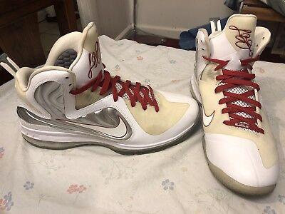 MENS NIKE RETRO LEBRON 9 Nike ID Size 14 Clean Rare Find