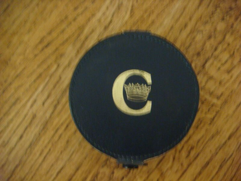 Concorde - British Airways - Dark Blue Leather 6 Coaster Set from 1976 Inaugural