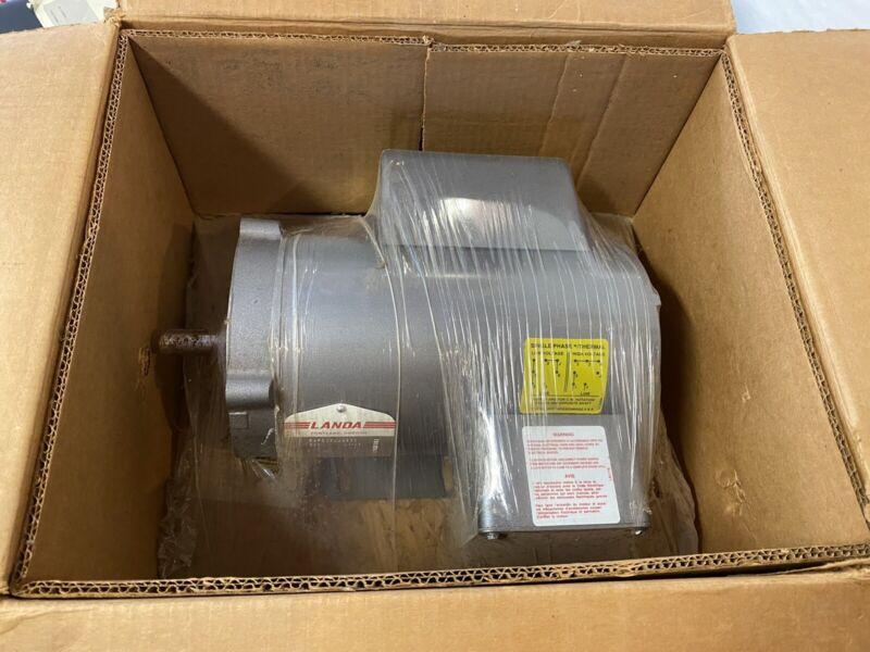 Baldor Landa Power Washer Electric Motor 1 1/2 HP Unused NOS