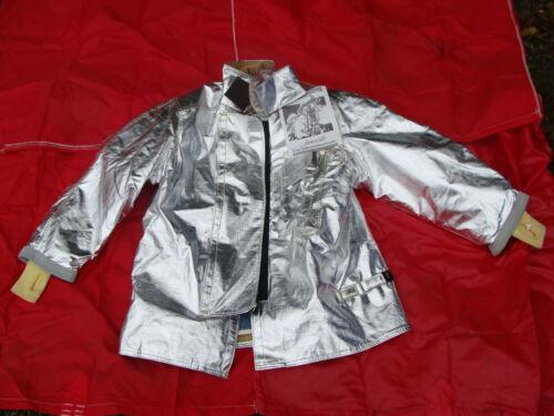 Janesville LION Firefighter Proximity Turnout Gear Fireman Jacket Size 44 x 32 S