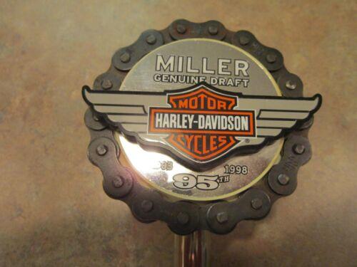 BEER TAPER MGD HARLEY DAVIDSON 95TH ANV.