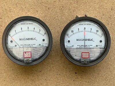 Dwyer Magnehelic Gauges 2006c And 2330