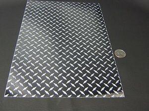 longlife mini silver diamond plate sign vinyl 12 inch x 10 feet