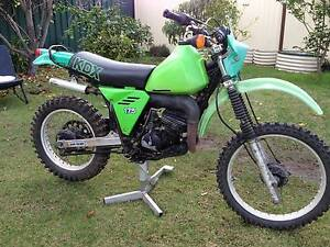 1981 Kawasaki KDX175 Classic VMX or Vinduro Lidcombe Auburn Area Preview