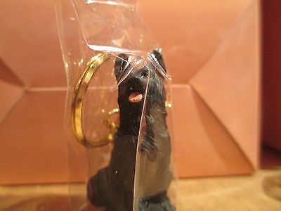 GERMAN SHEPHERD BLACK ~ KEY CHAIN