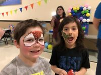 Bouncy castle events and face painting