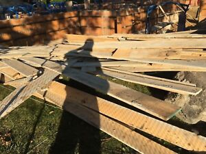 Used construction Wood