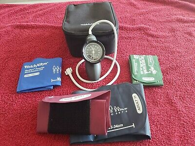 Welch Allyn Ds58-mc Sphygmomanometer Aneroid Durashock Blood Pressure Cuff